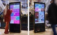 Interaktív kiosk
