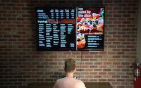 Digitális étlap